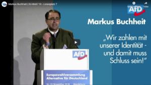 Am 19. März (Di.) spricht Markus Buchheit