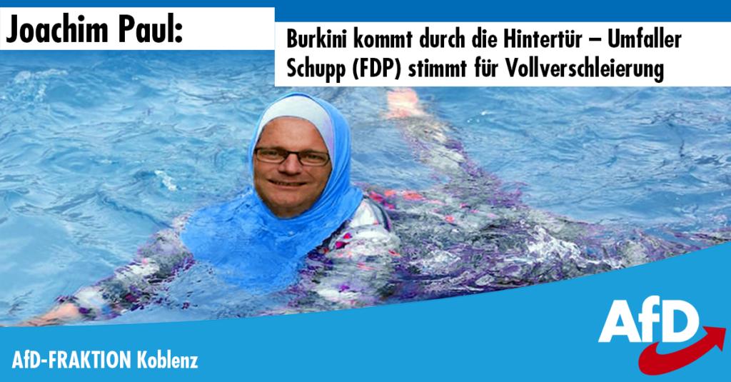 Paul-Schaubild - Koblenz Burkini 2