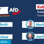 Puls der Heimat: Am 24.5. (Fr.) sprechen Georg Pazderski, Markus Buchheit, Martin Hess und Joachim Paul im Forum Confluentes