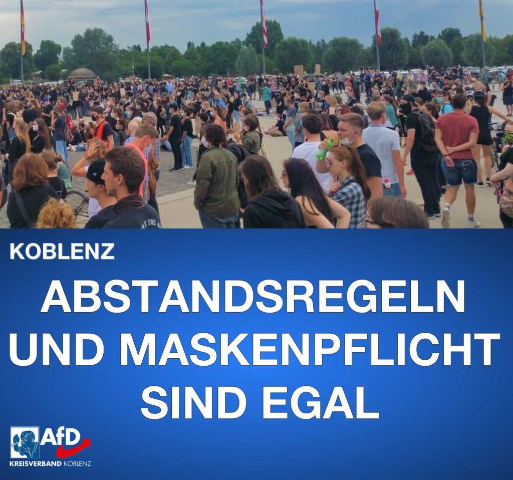 BLM Demo Koblenz